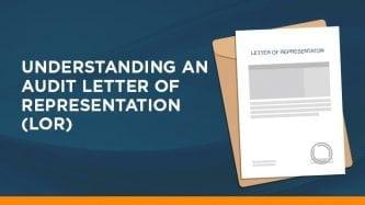 Understanding an audit letter of representation