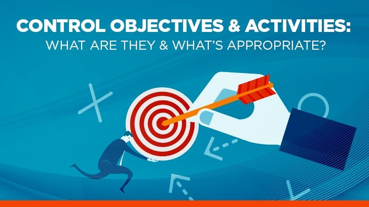 Control objectives & activities