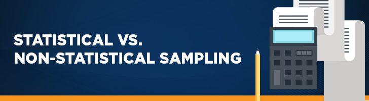 Statistical vs. non-statistical audit sampling