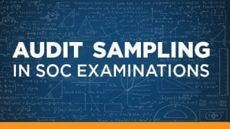 Audit Sampling in SOC examinations