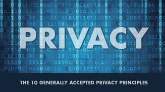 The 10 Generally Accepted Privacy Principles