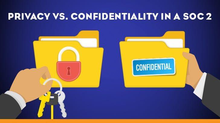 Privacy vs. Confidentiality