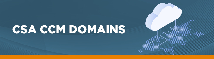CSA CCM Domains