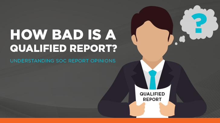 How bad is a qualified report?