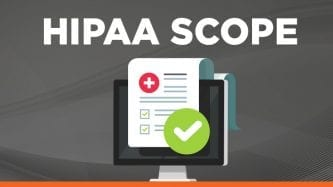 HIPAA Scope