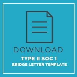 Download Type 2 SOC 1 Bridge Letter Template