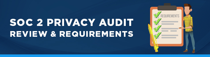 Privacy audit review & requirements