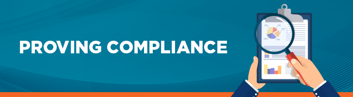 Proving compliance