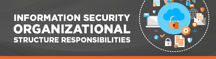 Information security organizational structure responsibilities