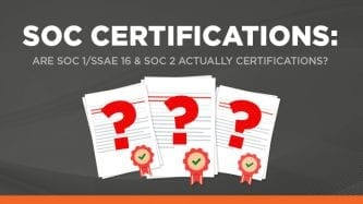 SOC certification