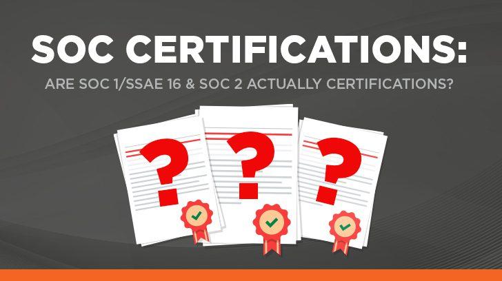 SOC certification