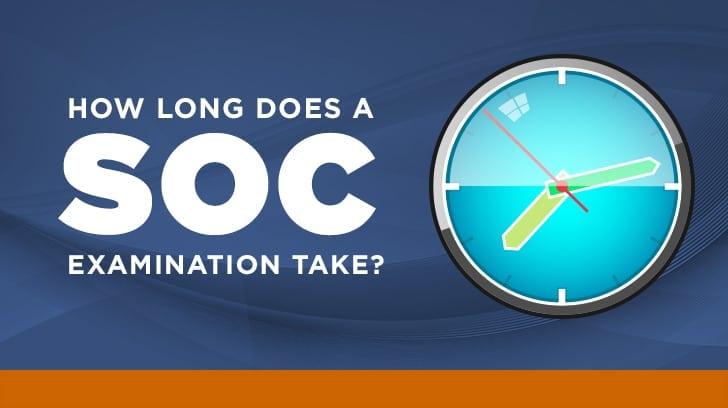 How long does a SOC examination take?