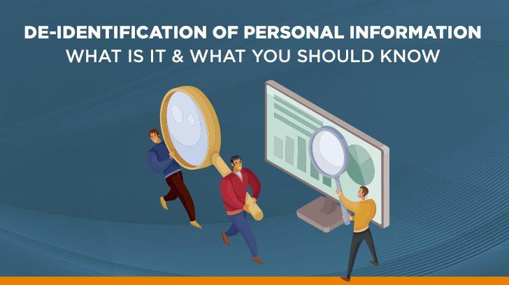 De-identification of personal data