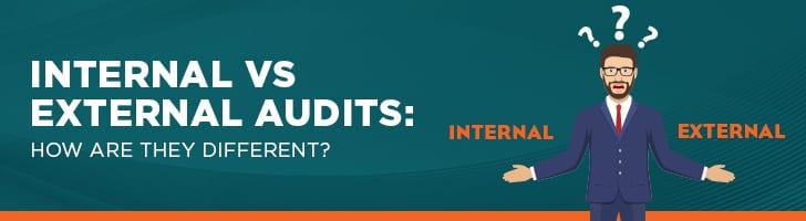 Internal audit vs. external audit