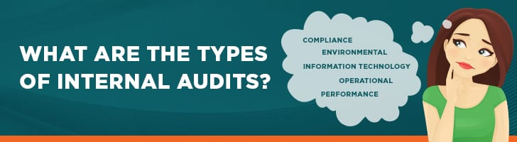 What are the types of internal audit
