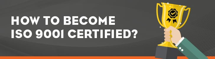 How to become ISO 9000 certified?