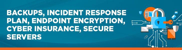 Backups, IRPS, Encryption