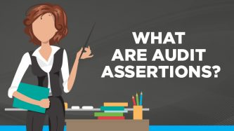 What are audit assertions?