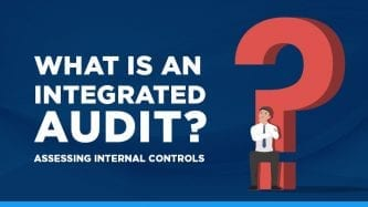 What is an integrated audit?