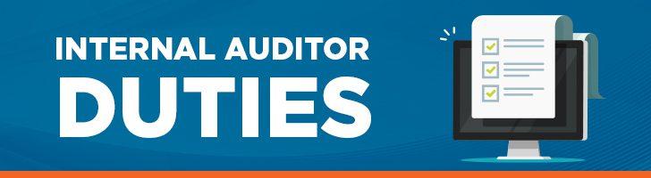 Duties of an internal auditor