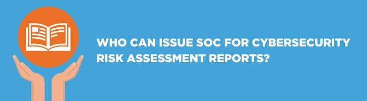 Who can issue SOC reports