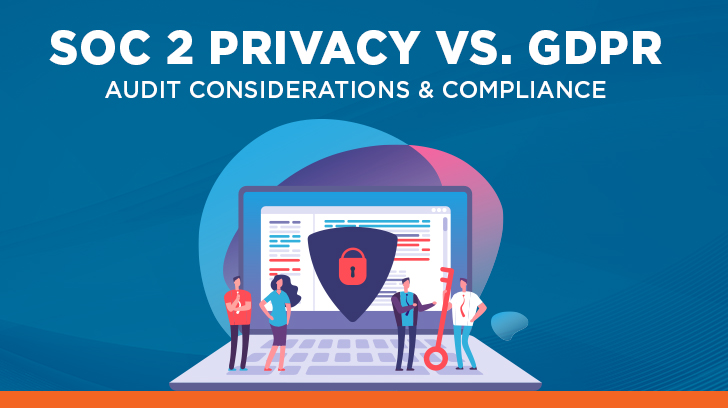 SOC 2 Privacy vs. GDPR