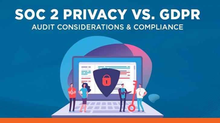 SOC 2 Privacy vs. GDPR