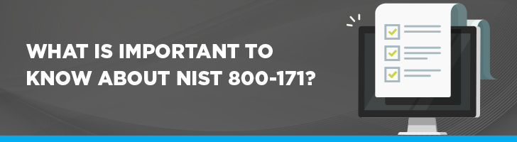What is important to know about NIST 800