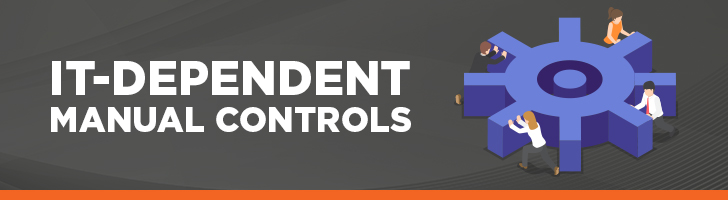 IT-dependent manual controls