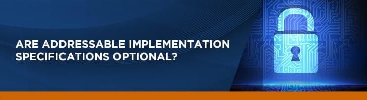 Addressable implementation