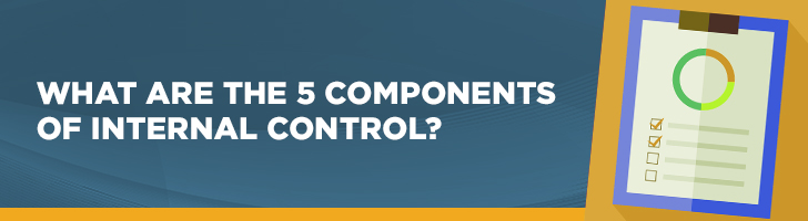 5 components to internal control