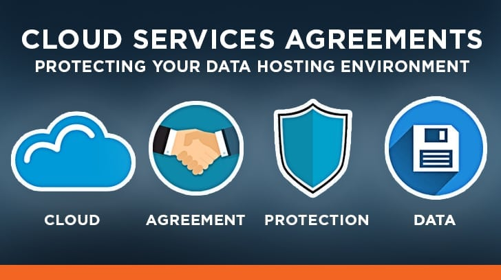 Cloud service agreement - Protecting your data