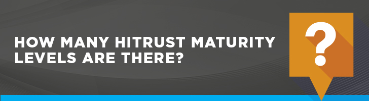 How many HITRUST maturity levels are there?