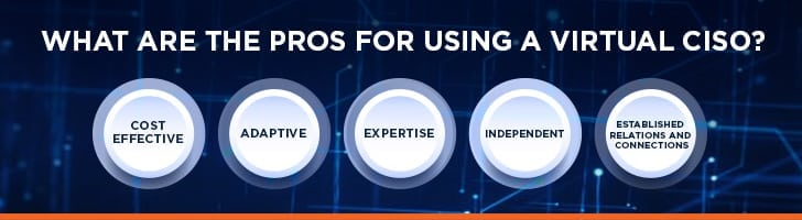 Pros of using a virtual CISO