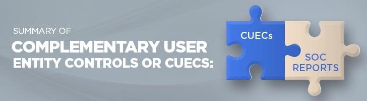 Summary of CUECs