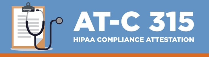 HIPAA compliance attestation
