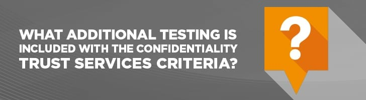 What additional testing is included?