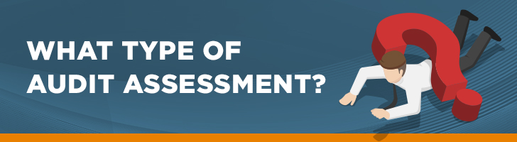 What type of audit assessment