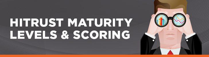 HITRUST maturity levels & scoring