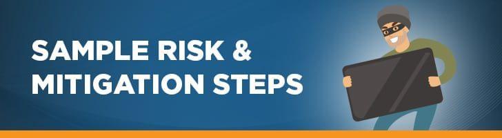 Walking through a sample risk