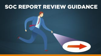 SOC report review guidelines