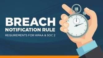Breach notification rule