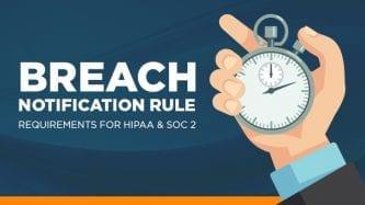 Breach notification rule
