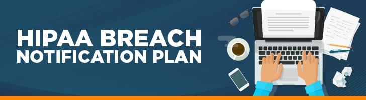 HIPAA breach notification plan
