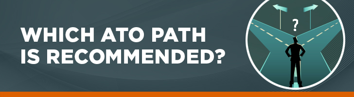 Which ATO path is recommended?
