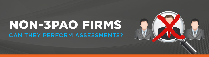 Can non-3PAO firms perform FedRAMP assessments?