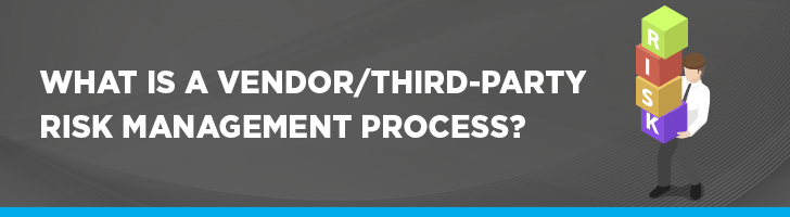 Vendor/third-party risk management process
