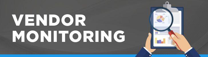 Vendor monitoring