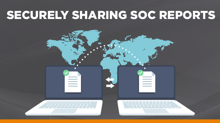 Securely sharing SOC reports