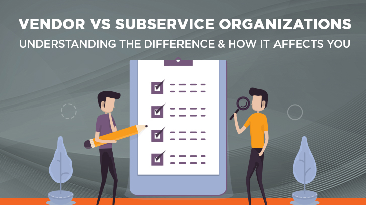 vendor vs subservice organization